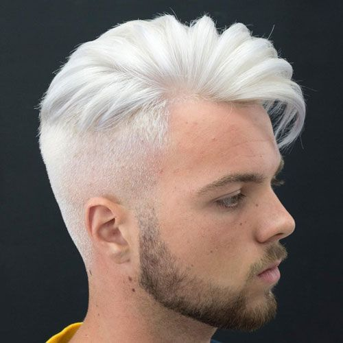 Men S Hairstyles Now The Best Haircuts And Styles For Men White Hair Men Comb Over Haircut Mens Hairstyles 2018