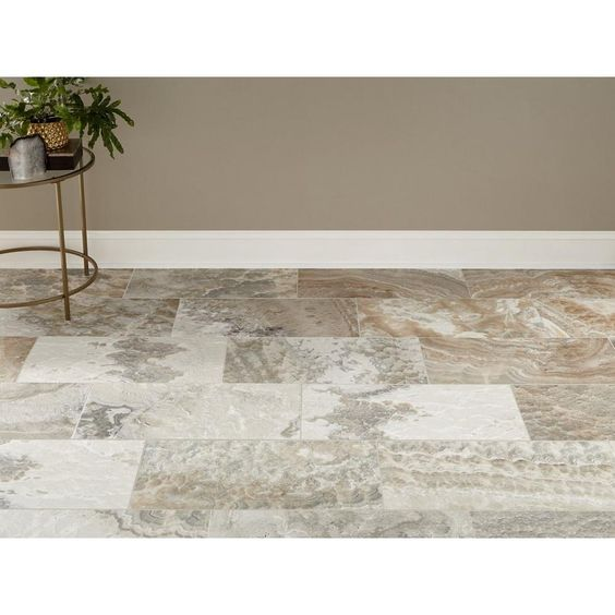 Storm Traonyx Brushed Travertine Tile In 2020 Travertine Tile Travertine Decor