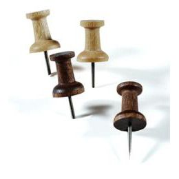 Container Store hardwood pushpins