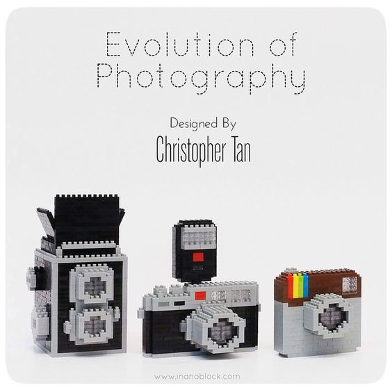 nanoblock Cameras | Christopher Tan