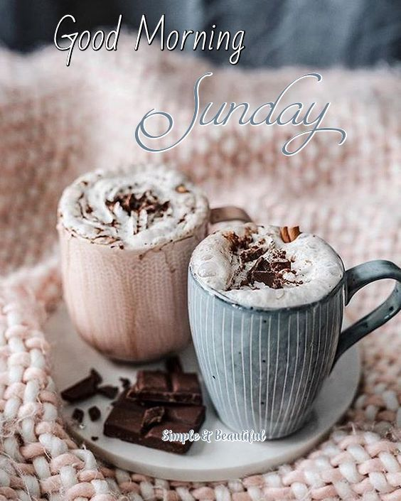Good Morning Sunday From Simple Beautiful On Facebook Food