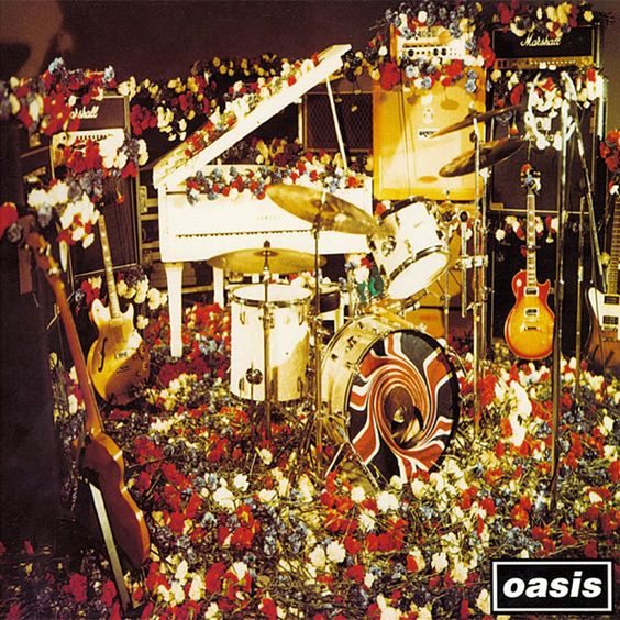 Oasis – Don't Look Back in Anger (single cover art)