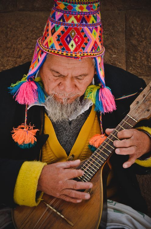 Charanguista Photo by Carlos Janik -- National Geographic Your Shot