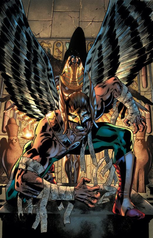 Hawkman By Bryan Hitch Dc Comics Superheroes Hawkgirl Hawkman