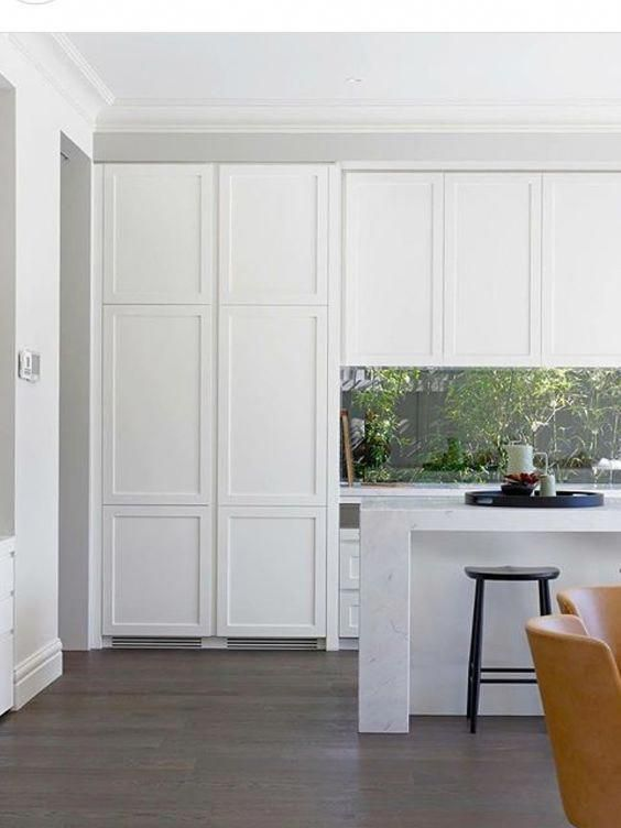 Nothing Is More Classic Than A White Shaker Style Kitchen It Is Simple Elegant And White Shaker Kitchen White Shaker Kitchen Cabinets Shaker Kitchen Cabinets
