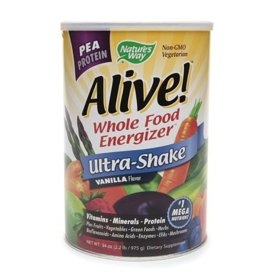 I'm learning all about Nature's Way Alive! Pea Protein Ultra-Shake at @Influenster!