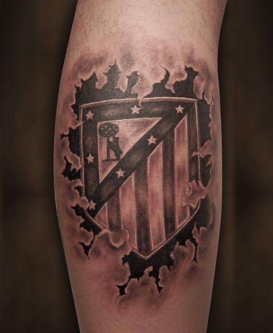 Atlético de Madrid Tattoo