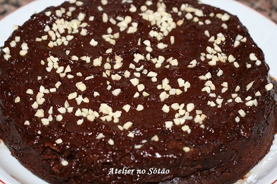 Atelier no Sótão...: Bolo de chocolate no microondas em 10 minutos