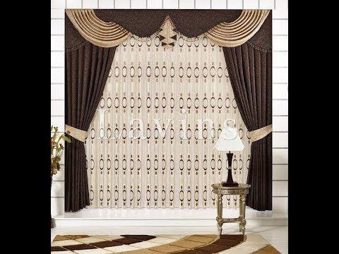 صور ستائر مودرن للريسيبشن 2017 Modern Curtains For Reception قصر الديكور Modern Curtains Classic Dining Room Holiday Room