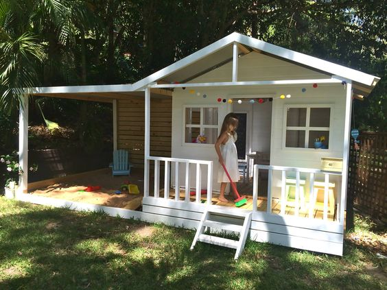 The roof sandpit ideas and cubby houses on pinterest for Design a shed cubbies