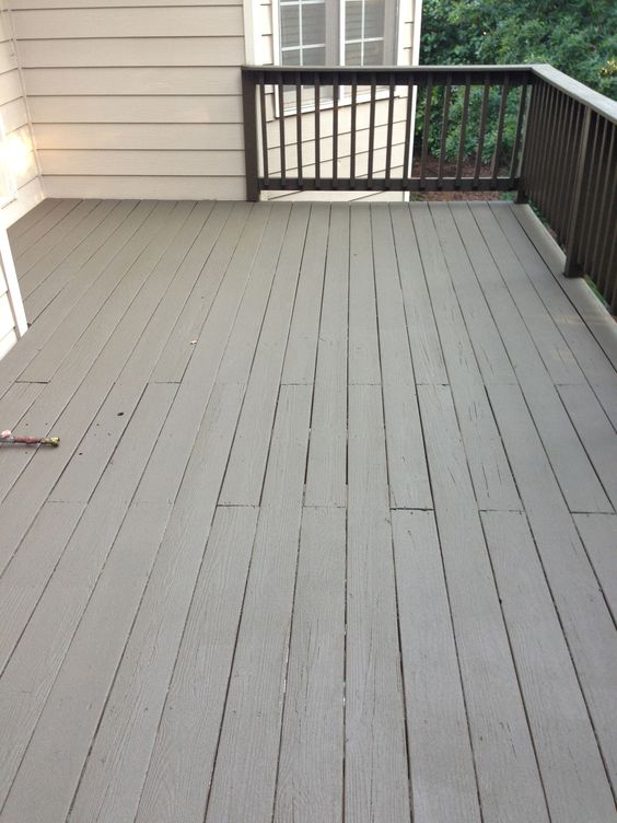 Deck Paint That Fills Cracks ~ After photo sherwin williams deck revive fills cracks