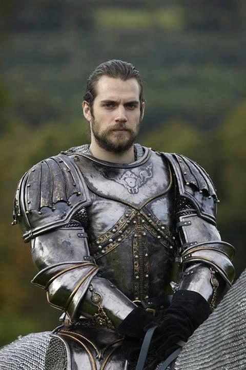 My knight in shining armor...