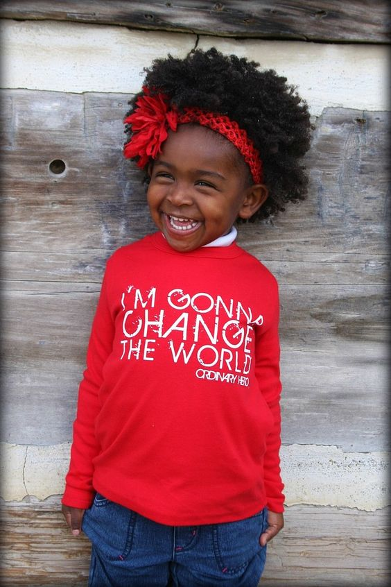 Never too young to CHANGE THE WORLD!: