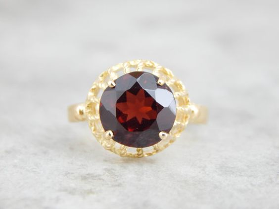 Hey, I found this really awesome Etsy listing at https://www.etsy.com/listing/241887209/italian-style-vintage-garnet-cocktail