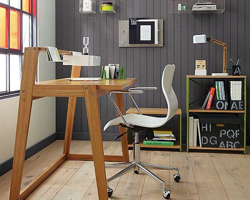 Turn Your #Garage Into A Home Office. Great Idea For