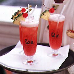 Singapore Sling Recipe - Saveur.com The Singapore sling was created in the early 1900s in the Long Bar at Singapore's legendary Raffles Hotel by bartender Ngiam Tong Boon. The original recipe was never recorded, but the hotel's modern-day version—based on bartenders' remembrances and some written notes—remains popular: The bar serves thousands of slings every day.