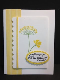 A Summer Silhouettes Birthday Card Stampin' Up! Rubber Stamping Handmade Cards