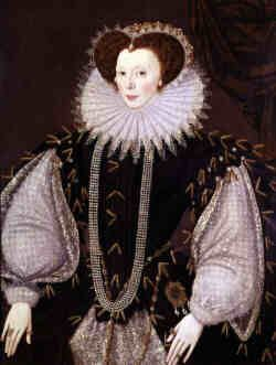 ELIZABETH SYDENHAM (c.1562-June 9, 1598) She married first, on about February 9, 1585, Sir Francis Drake of Buckland Abbey and Yelverhampton, Devon (c.1540-January 28, 1595/6). Drake was already a hero from his voyage around the world (1577-80). He spent most of their marriage at sea and died aboard his ship in the harbor at Porto Bello and was buried at sea.