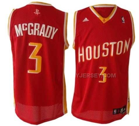 http://www.yjersey.com/nba-houston-rockets-3-mcgrady-red-jerseys.html #NBA HOUSTON #ROCKETS 3 MCGRADY RED JERSEYSOnly$34.00  Free Shipping!