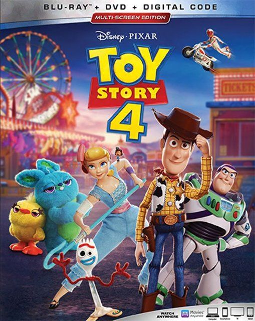 Toy Story 4 Includes Digital Copy Blu Ray Dvd 2019 Toy Story Series Toy Story Movie