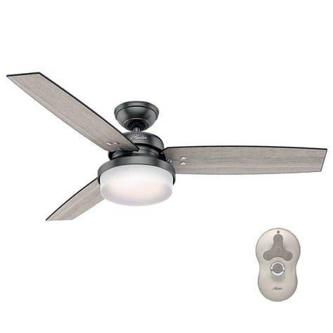 Most Popular Bedroom Ceiling Fans No Light For 2019 Ceiling Fan With Light Fan Light Bronze Ceiling Fan