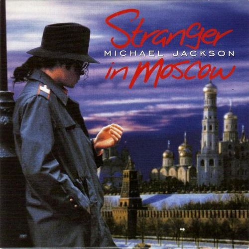 Michael Jackson – Stranger in Moscow (single cover art)