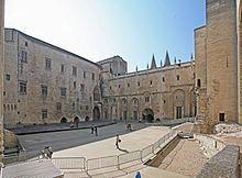 Palais des papes d'Avignon — Wikipédia