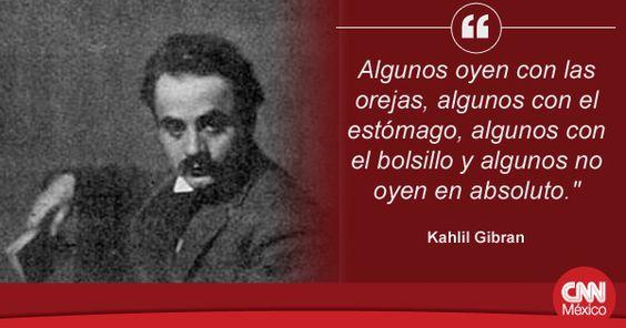 Un día como hoy de 1883 nació el poeta, pintor, novelista y ensayista libanés Kahlil Gibran
