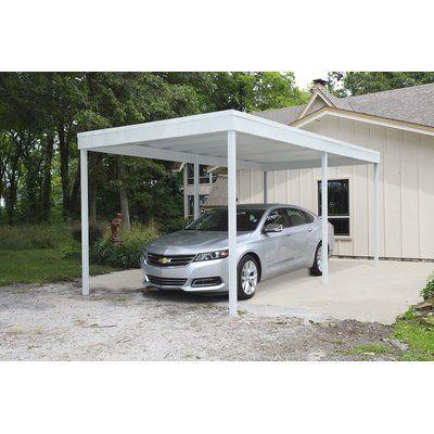 Arrow Carport Patio Cover Canopy Wayfair Carport Patio House With Porch Carport Designs