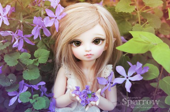 https://flic.kr/p/rJoZvi | for you ♥ | Happy Mother's Day to all the moms who celebrated today.  I hope you had a wonderful time!  Clover brought you some  flowers from the purple flower forest to make your day complete. ^__^