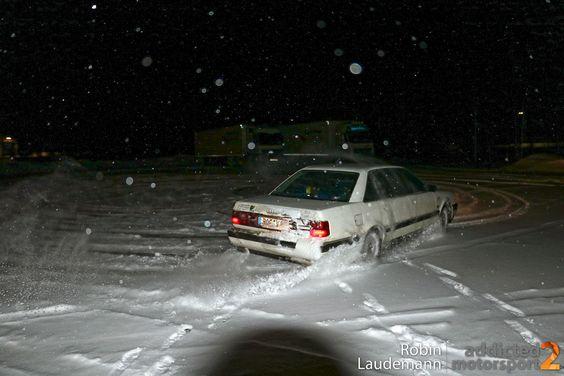 Audi V8 Quattro im Schnee (Foto: Robin Laudemann)