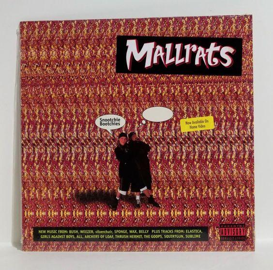 MALLRATS Film OST Various Artists VINYL LP Sealed Sublime Bush KEVIN SMITH #FilmScoreSoundtrack