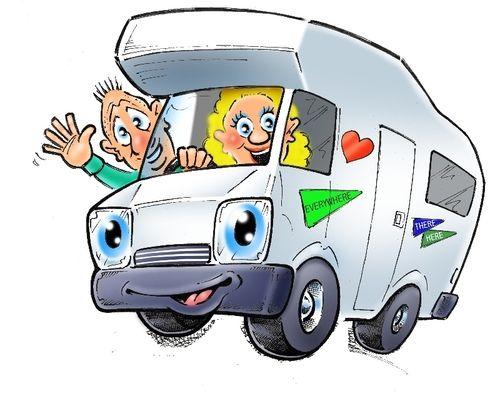 Image Result For Cartoon Campervan Pictures Campervan Adventure