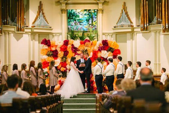 Ideias lindas e criativas para um casamento mais barato