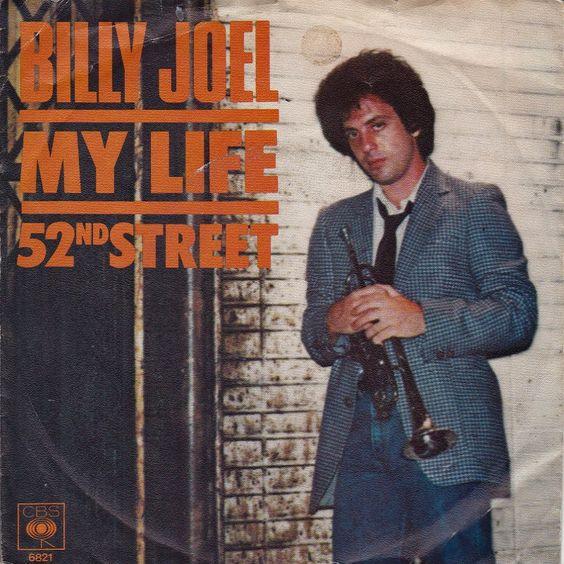 Billy Joel – My Life (single cover art)
