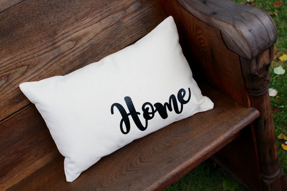 Home Pillow - Farmhouse style collection- Home Decor- by reprizedesigns on Etsy