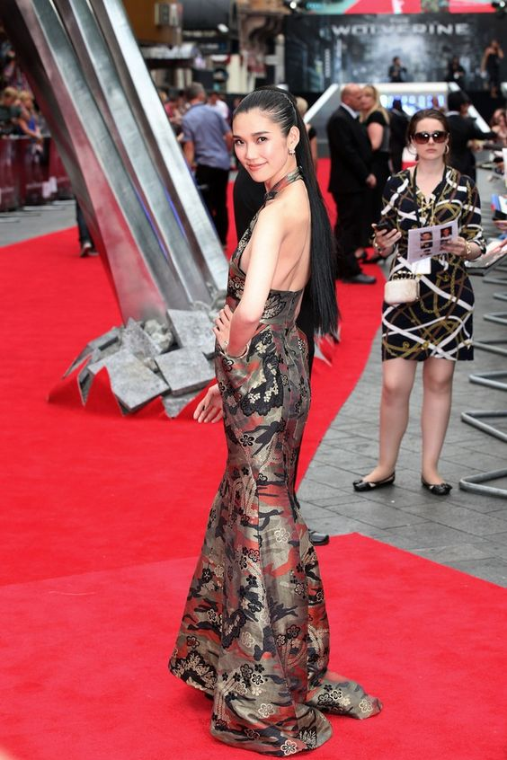 7/16/13:Tao Okomoto at 'The Wolverine' Premiere in London.
