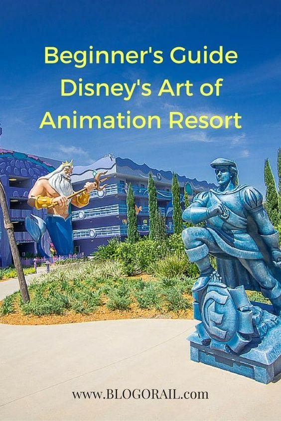 Beginner's Guide - Disney's Art of Animation Resort - The Blogorail