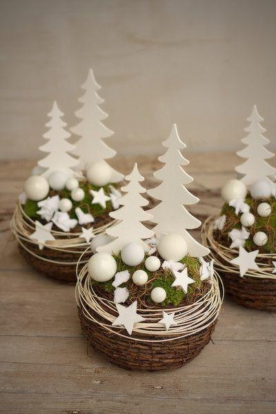 Ideas de decoración de Año Nuevo, qué bonitos árboles de Navidad.