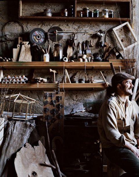 Andrea Brugi's workshop.