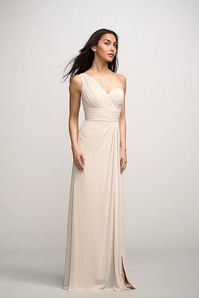 @Aubrey Meusel's bridesmaid dresses! Watters Maids Dress Tulip..in Indigo