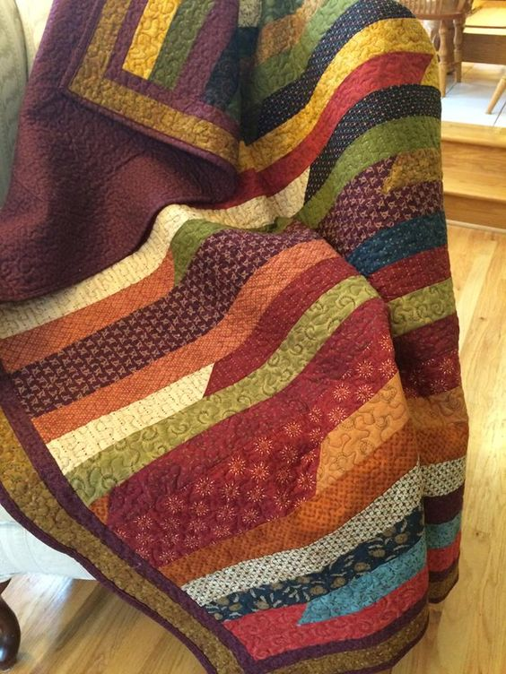 Quilt Fabrics And Jelly Rolls On Pinterest