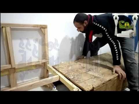 طريقة تحويل كنب بلدى قديم الى ركنة مودرن نجارة Convert An Old Sofa Into A Modern Sofa Carpentry Youtube