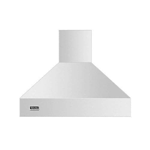 Viking Vcih53608 36 Inch Wide Wall Mount Range Hood Less Ventilator Kits From The Professional 5 Series Silver Sta Wall Mount Range Hood Range Hood Wall Mount