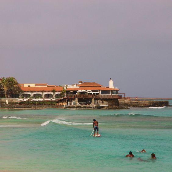 Cabo verde-ilha do sal  - o meu hotel