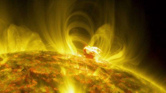 Vídeo: uma enorme erupção solar captada pela NASA - Observador