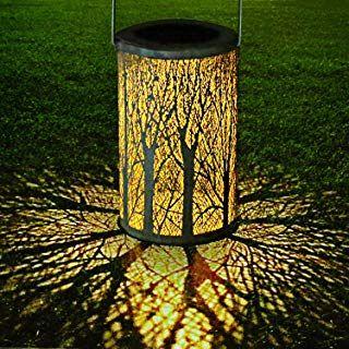 Led Solar Laterne Aussen Golwof Solarlaterne Fur Aussen Solarleuchte Garten Hangend Outdoor Deko Solarlam Solar Lights Garden Solar Lantern Lights Tree Lanterns