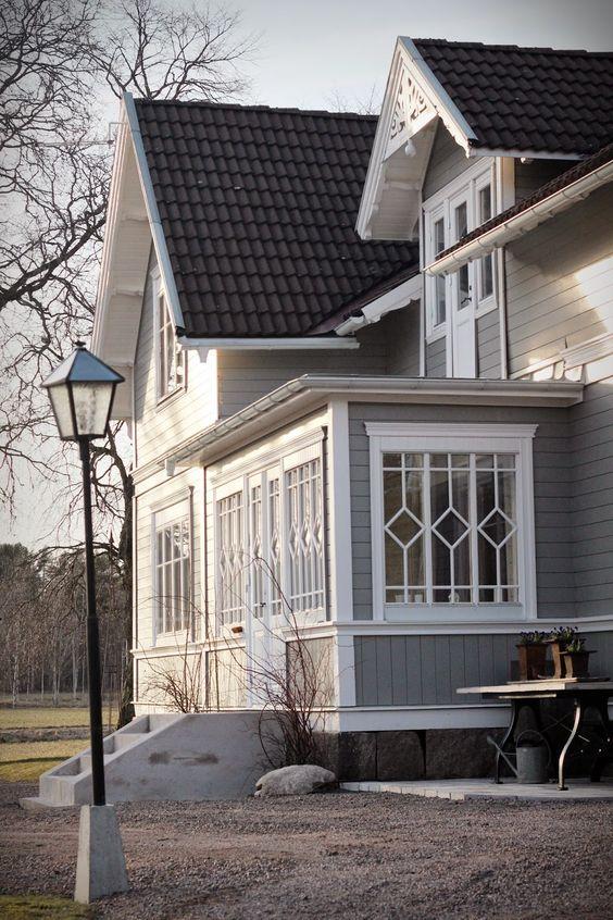 Mein Wunschhaus...diese Veranda ist traumschön: