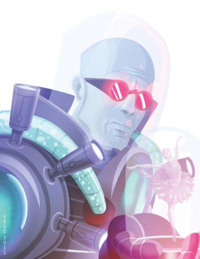 Mr. Freeze Portrait : By Yeso