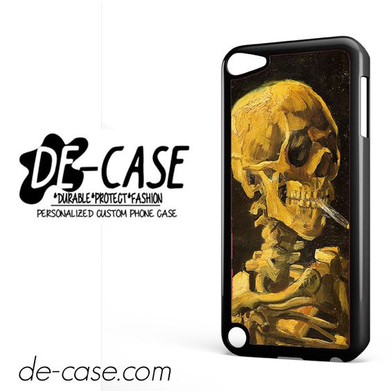 Skull Smoking DEAL-9657 Apple Phonecase Cover For Ipod Touch 5